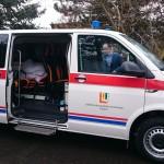 Převzetí nového sanitního vozu