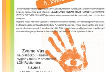 Světový den hygieny rukou